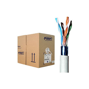 COMMSCOPE/AMP (1859218-2) FTP Cable Cat6A, 4 Prs, 23 AWG, 305/rl